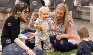 baby bubbles and preschool activities