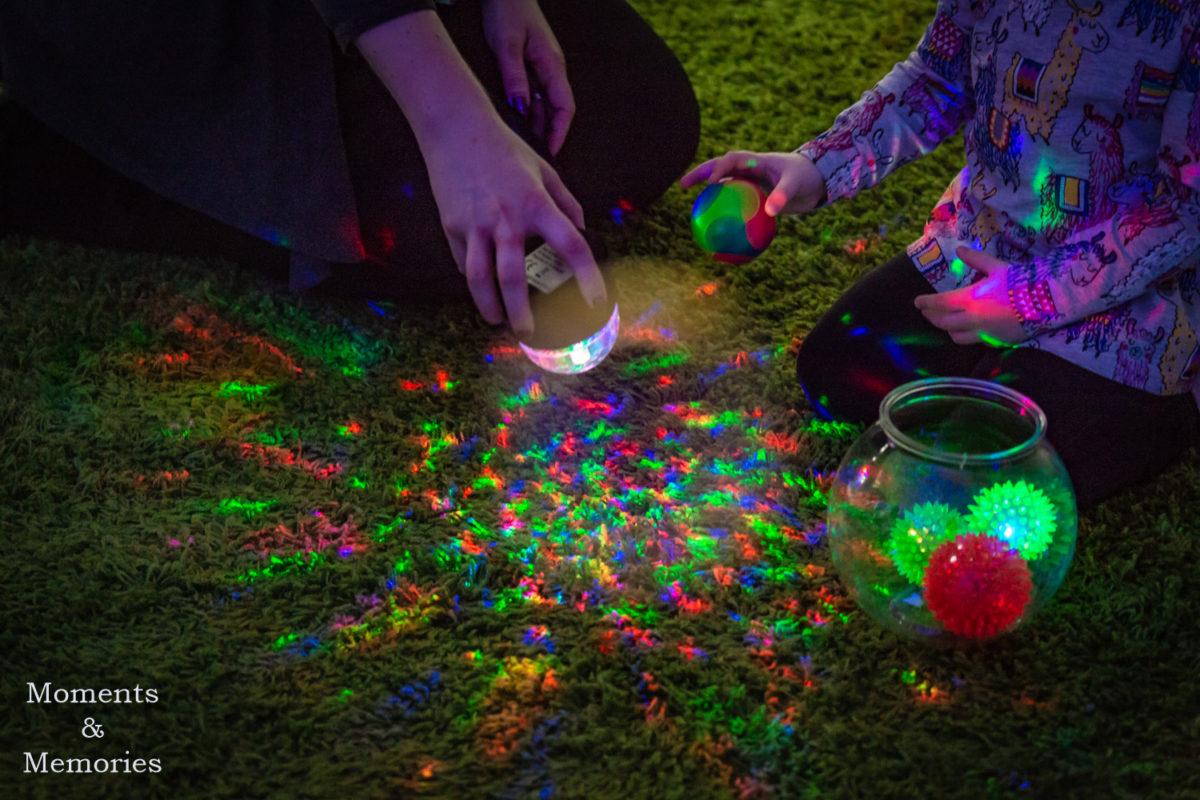 sensory object play